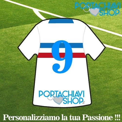Personalizzata 3 - Portachiavi Mini T-shirt Personalizzabile