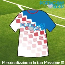 Grafica 005 - Portachiavi Mini T-shirt Personalizzabile