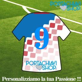 Personalizzata 5 - Portachiavi Mini T-shirt Personalizzabile