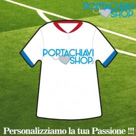 Classica 001 - Portachiavi Mini T-shirt Personalizzabile