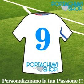 Lubiana - Portachiavi Mini T-shirt Personalizzabile