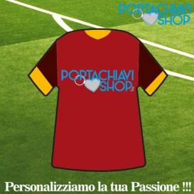Mod Roma - Portachiavi Mini T-shirt Personalizzabile