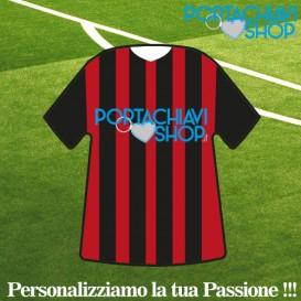 Mod Milan - Portachiavi Mini T-shirt Personalizzabile