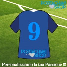 Mod Juve 2 - Portachiavi Mini T-shirt Personalizzabile