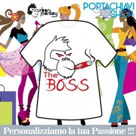 The Boss - Portachiavi Mini T-shirt Urban Monkey