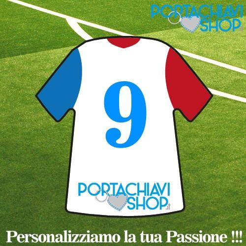 Grafica 006 - Portachiavi Mini T-shirt Personalizzabile