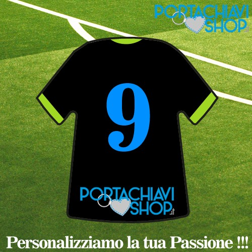 Mod Chelsea 3 - Portachiavi Mini T-shirt Personalizzabile