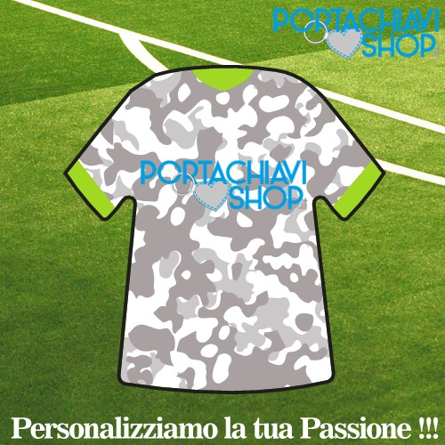 Mod Military - Portachiavi Mini T-shirt Personalizzabile