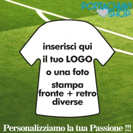 Neutro - Portachiavi Mini T-shirt Personalizzabile
