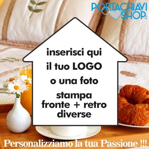 Portachiavi a forma di Casa Personalizzabile